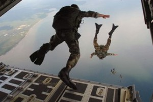 Force Recon Frogmen from the Air unedited