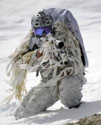 Navy Seal in White Camo and mask BETA
